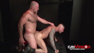 Nick Moretti bottoms for Bronson Gates
