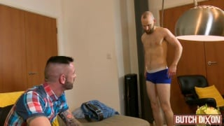 bossy top fucks cute bearded ginger