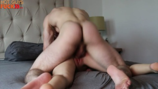 TOTAL STUD JOHNNY PITT FUCKS JACKIE HARD IN BED