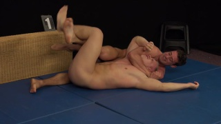 WRESTLING match - Jan Cerny vs Ivan Mraz