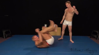 Tom vs Nils in WRESTLING session
