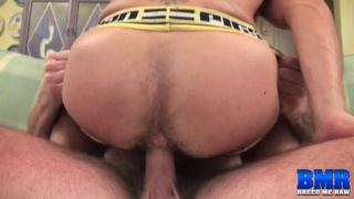 hung Luke Harrington bare fucks Aarin Asker