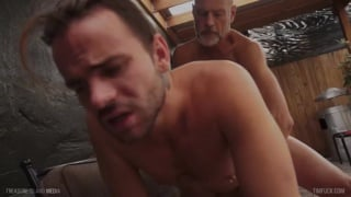 LUKAS cipriani gets fucked by handsome daddy