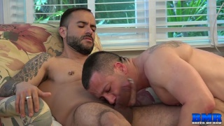 top fucks his husband's raw ass