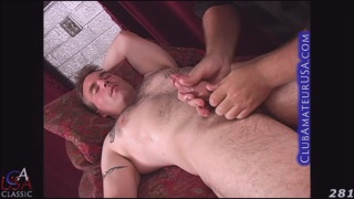 beefy stud Hydro gets his large dick serviced