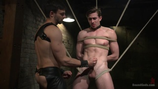 Jack Hunter in Jason Maddox's dungeon