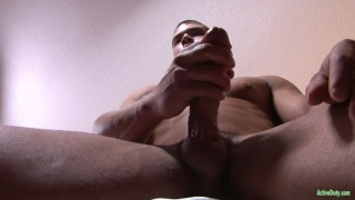 muscle stud jacks his thick stiff meat