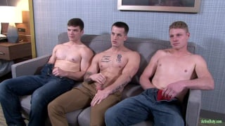 threeway with Quentin Gainz, Ivan James & Levi