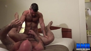 Aarin Asker bare fucks Victor West