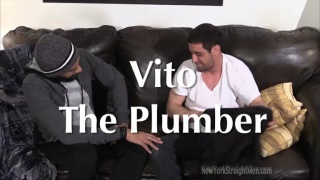 vito the Plumber gets a blowjob