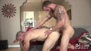 muscle bear daddies blow each other