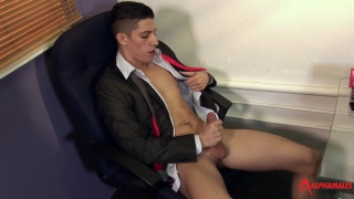 Suited Solo Stud with danny montero