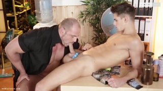 Tony Conrad bottoms bare for Zack Hood