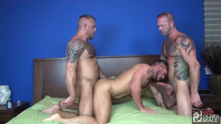 Breeding Daddies with Vic Rocco, Jon Galt and Aarin Asker