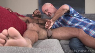 sexy man Vinnie Stefano Serviced gets blowjob