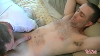 Young Joe gets his dick serviced