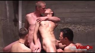 Raw Gang Bang Cum Dump