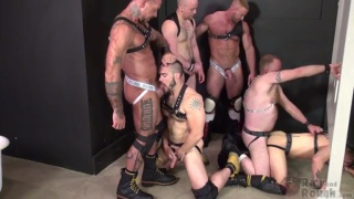 Glory Hole Fuck Fest Part 2 with Nick Roberts, Ray Dalton