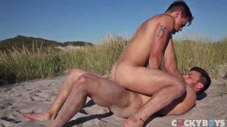 Jason Maddox Fucks Levi Karter on the beach