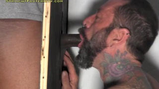 linebacker gets blown at the glory hole