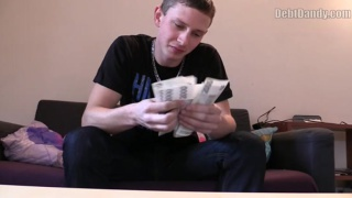 cute lad earns a wad of cash