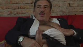 hot Italian Dad SANTINO beats off