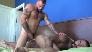 Real-life boyfriends Sean Duran and Rikk York  fuck