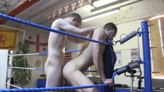 Three Against One - Recruit Hazed in the Ring