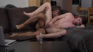 Christian takes Austin Wilde's entire load