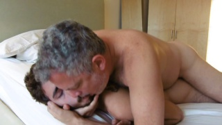 furry pup Levi gives his ass to two daddies