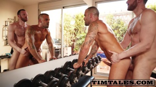 Damien Crosse bottoms for tim kruger