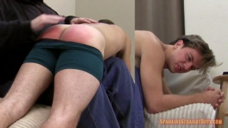 Andrew's First Ever Spanking