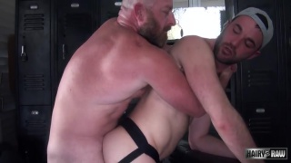 hairy barebackers Alex Mason and Dalton Hawg