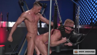 Blindfolded with Skyy Knox and Johnny V
