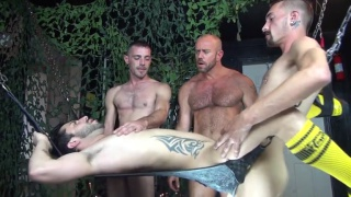 Gang Fucked 5 with sean storm and tate ryder