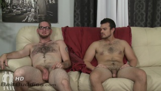 Straight guy Anthony Jones and gay Jason Barr