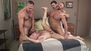 hairy tales with Dirk Caber, Colton Grey, Marc Giacomo & Derek Bolt
