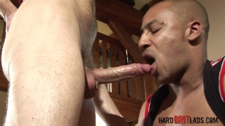 white Brit plays with 10-inch BBC