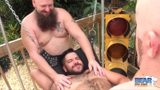 Outdoor Bear Fucking with lanz adams