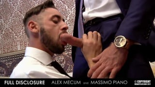 ALEX MECUM gets fucked by MASSIMO PIANO