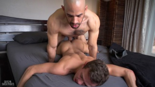 welcoming logan with Austin Wilde & Logan Cross