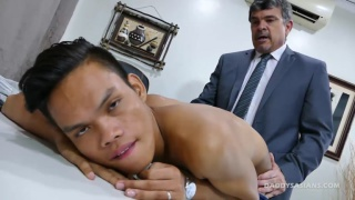 asian boy has wanted this daddy cock up his ass for a while