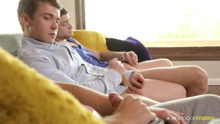 Dirty Step-Brother with Gabriel Cross, Tom Faulk and River Elliott