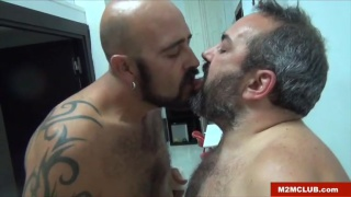 two spanish bear men fucking in bed