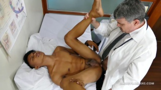 gay boy loves to play doctor with older men