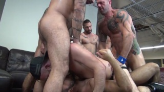 Alex Mason's Birthday Gangbang