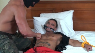 Bound and Tortured In Bed with David Rome