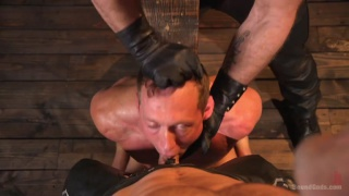 Dom in training gets to break in a ripped, new slave