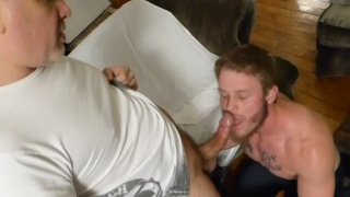 BIG BUTT MUSCLE FUCK with shawn reeve