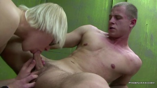 guarda il video: Taking His Straight Muscle Cock Raw